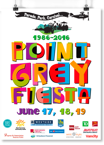Point Grey Fiesta Poster