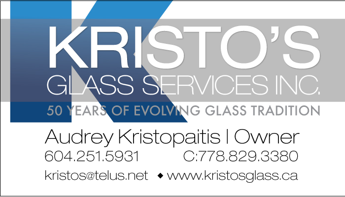 Kristo's Glass Inc.